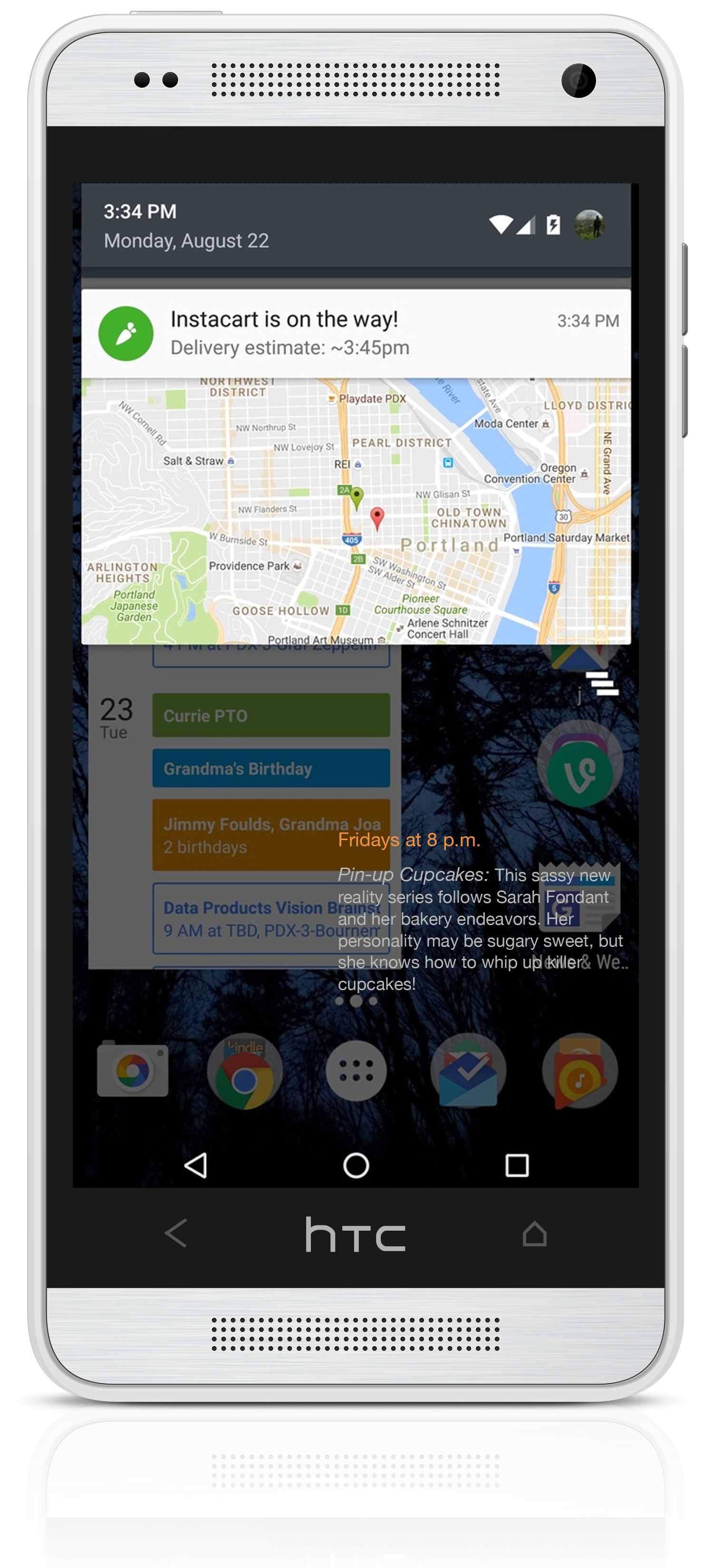 rich-notification-example-map-showing-delivery-status-on-smartphone-screen