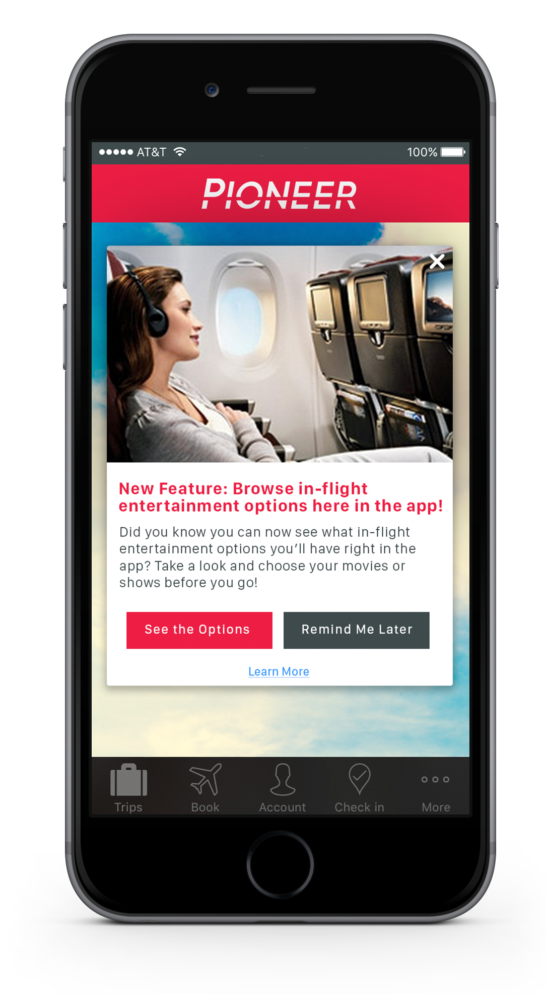 airline-app-in-app-messaging-example