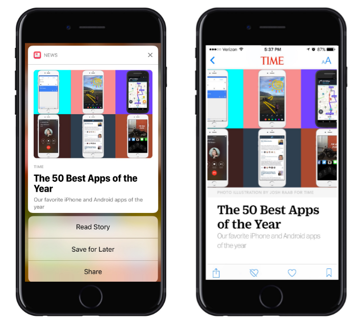 apple-news-notification-interactive-buttons-and-deep-linking-screenshots