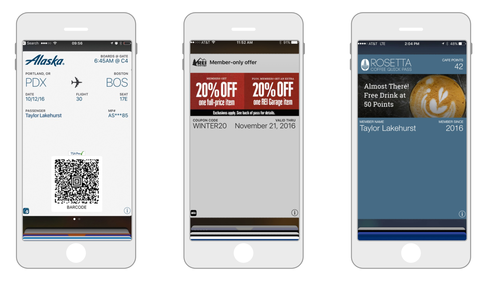 mobile-wallet-pass-examples-boarding-pass-coupon-loyalty-card