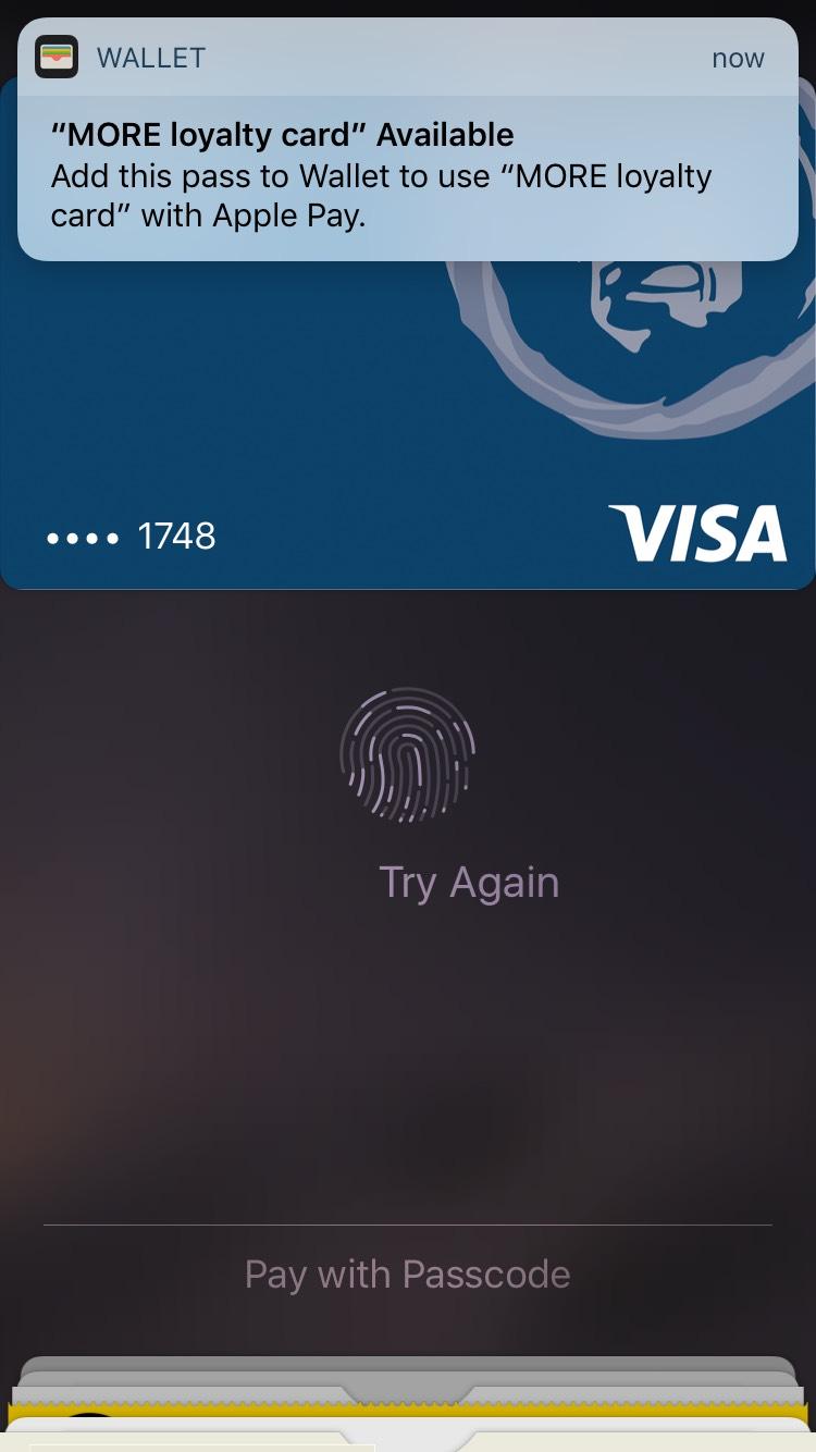 more-loyalty-program-mobile-wallet-pass-download-prompt-screenshot