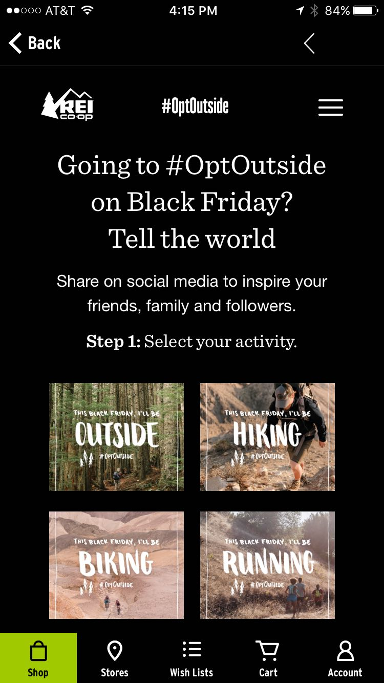 rei-app-going-to-optoutside-on-black-friday-tell-the-world-screenshot