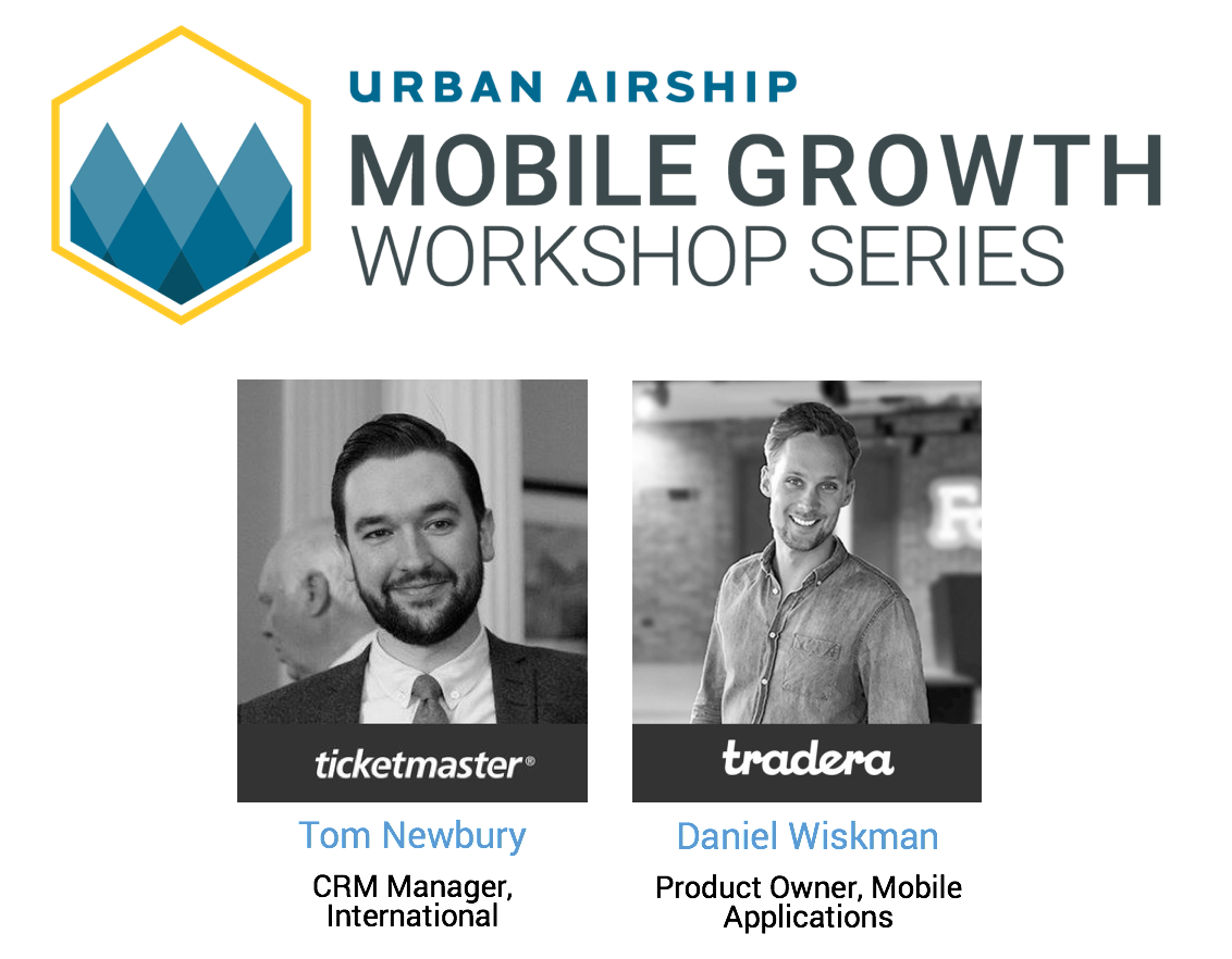 tom-newbury-ticketmaster-daniel-wiskman-tradera-at-urban-airship-mobile-growth-workshop